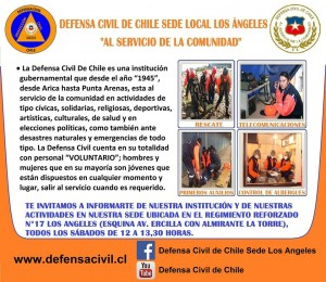 1era Jornada de Instrucción a Voluntarios Defensa Civil #LosAngeles